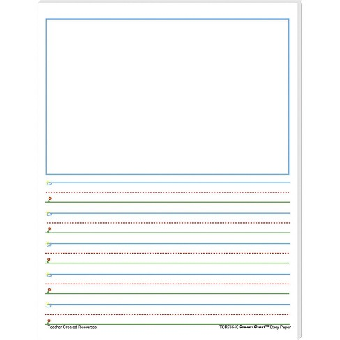 Frog Street Press Smart Start Story Paper, Grade 1 to 2, 5/8 Inch Rule, 8-1/2 x 11 Inches, 40 Sheets - image 1 of 1
