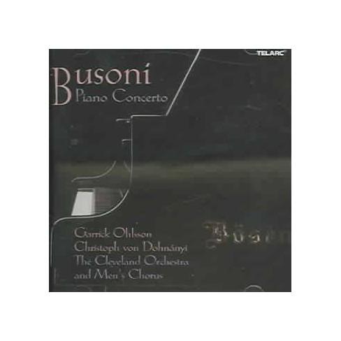 Busoni - Busoni: Piano Concerto (CD) - image 1 of 1