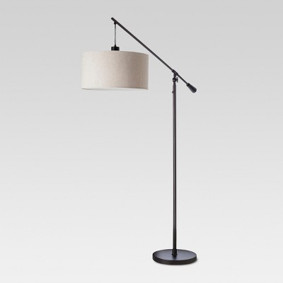 Cantilever Drop Pendant Floor Lamp Antique Brown Includes Energy Efficient Light Bulb - Threshold™
