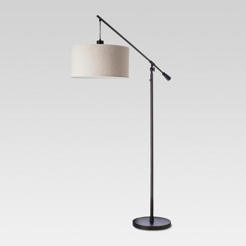 Cantilever Drop Pendant Floor Lamp
