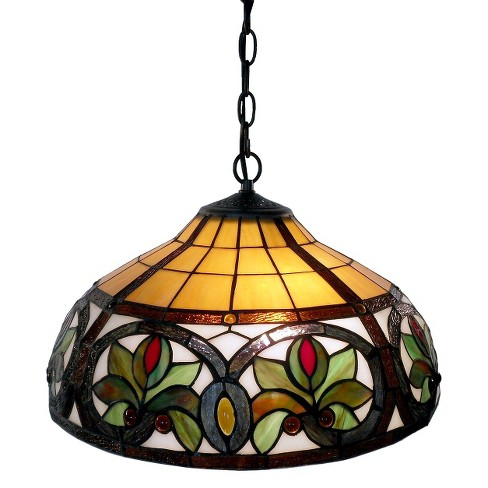 Tiffany-Style Hanging Lamp - image 1 of 1