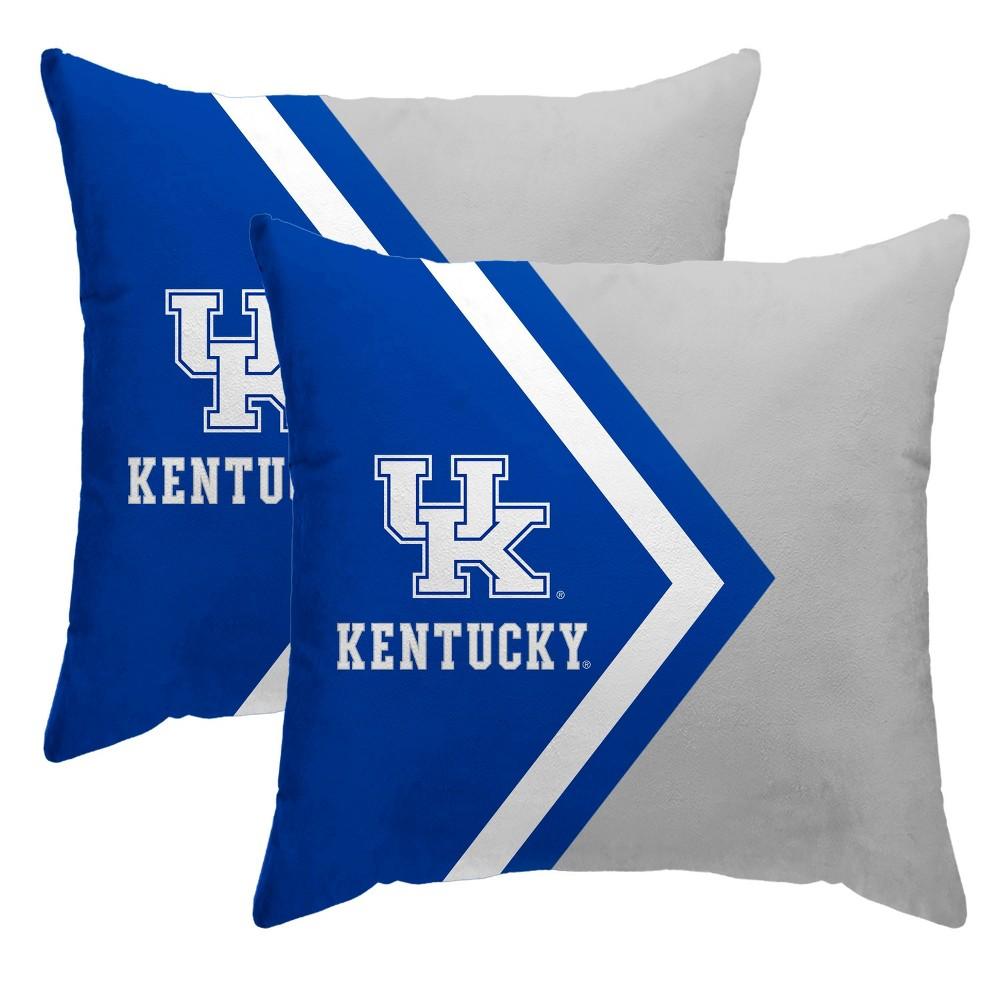 Ncaa Kentucky Wildcats Side Arrow Poly Span Throw Pillow 2pk