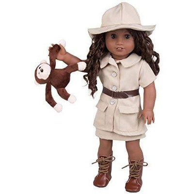 Dress Along Dolly Safari Explorer Outfit for American Girl Doll