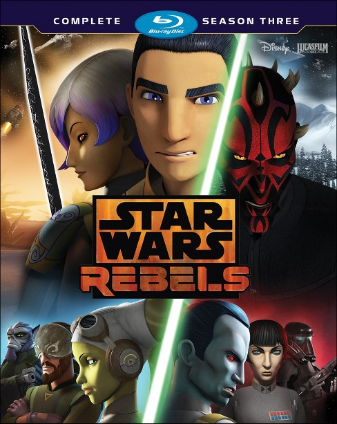Star Wars Rebels: The Complete Season 3 (Blu-ray) - image 1 of 1