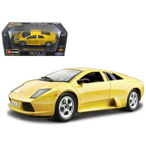 Lamborghini Murcielago Yellow 1 24 Diecast Model Car By Bburago Target