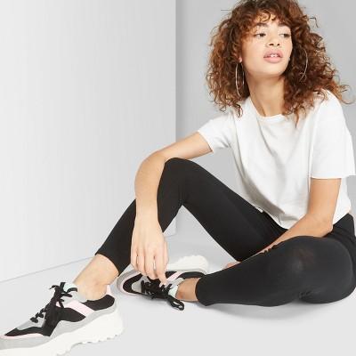 Women's High-Waist Leggings - Wild Fable™ Black M