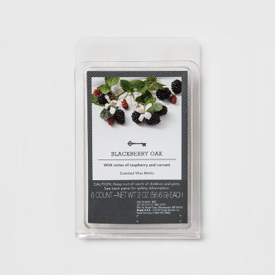 6ct Blackberry Oak Scented Wax Melts - Threshold™