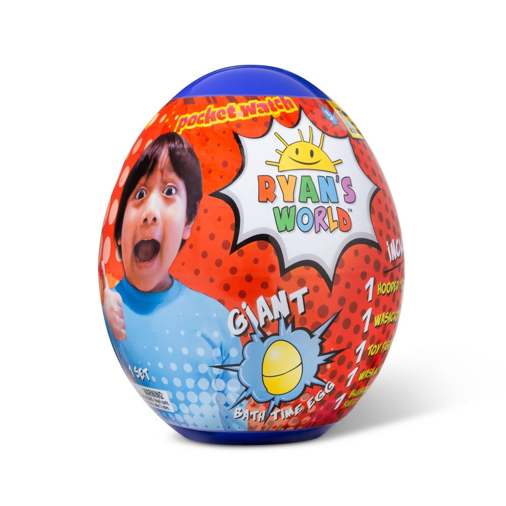 "Image of ""10"""" Ryan's World Bath Egg"""