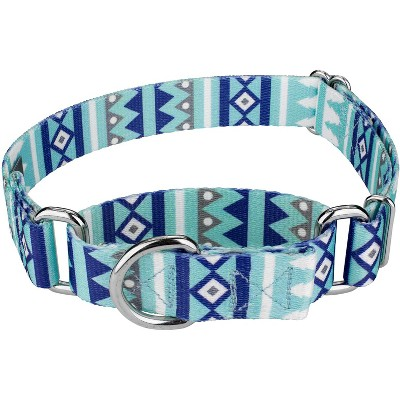 Country Brook Petz® Snowy Pines Martingale Dog Collar
