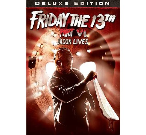 Friday The 13th:Part Vi Jason Lives (DVD) - image 1 of 1