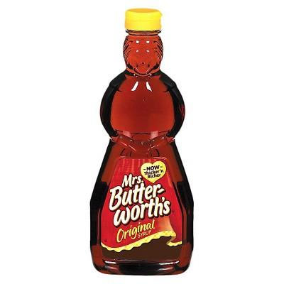 Honeys & Syrups: Mrs. Butterworth's
