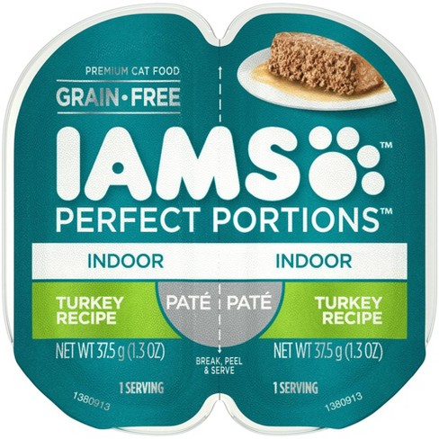 IAMS Healthy Adult Perfect Portions Turkey Recipe Wet Cat Food 2.6oz - image 1 of 4
