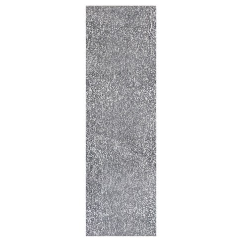 Bliss Gray Heather Shag Woven Rug - KAS - image 1 of 1