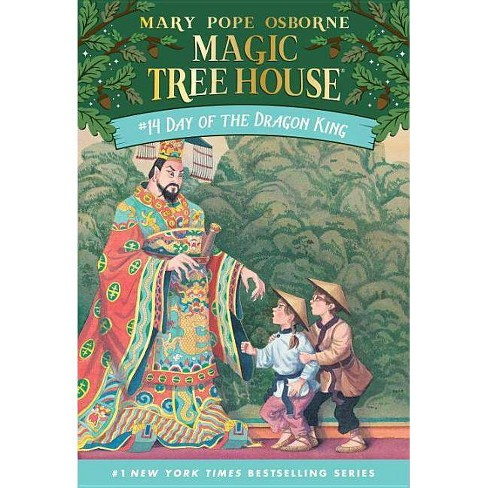 Day of the Dragon King - (Magic Tree House) by  Mary Pope Osborne (Paperback) - image 1 of 1