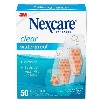 Bandages & Gauze: Nexcare Waterproof