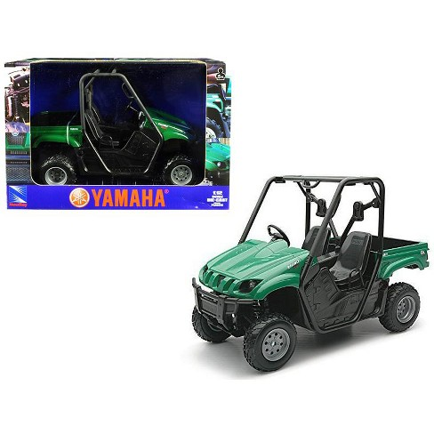 2008 Yamaha Rhino 700 F1 4x4 Off Road Atv Green 1 12 Diecast Model