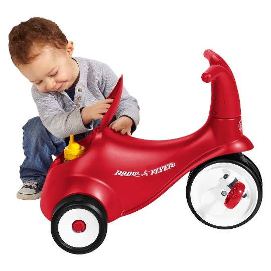 Radio Flyer Kid's Scoot 2 Pedal Scooter - Red image number null