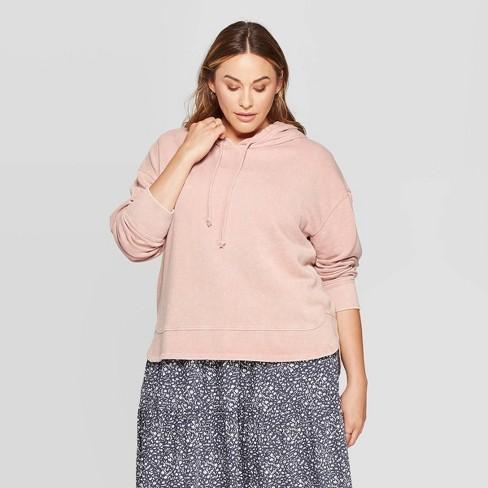 Women's Plus Size Hoodie Sweatshirt - Universal Thread™ - image 1 of 3