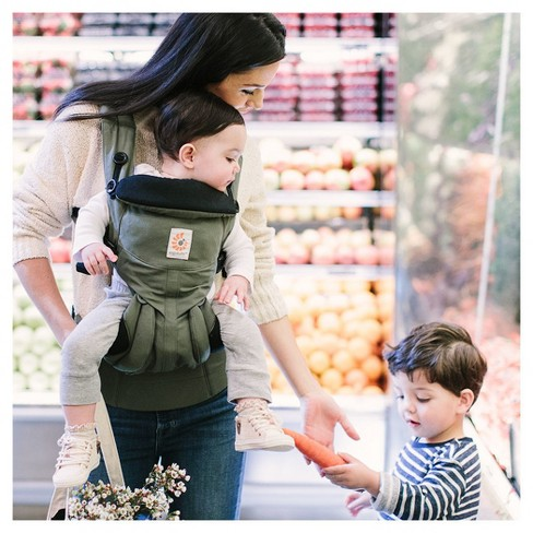 252aca4b91d Ergobaby Omni 360 All Carry Positions Ergonomic Baby Carrier - Khaki Green.  Shop all Ergobaby