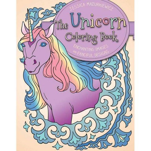 The Unicorn Coloring Book - (Paperback) - image 1 of 1