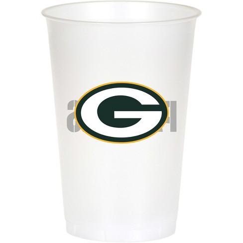 8ct Green Bay Packers Plastic Cups - image 1 of 1