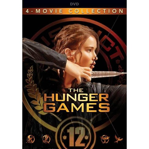 The Hunger Games: The Complete 4-Film Collection (DVD) - image 1 of 1