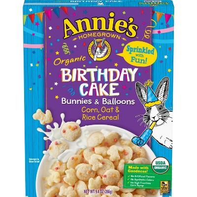 Annie's Birthday Cake Cereal - 9.4oz - General Mills