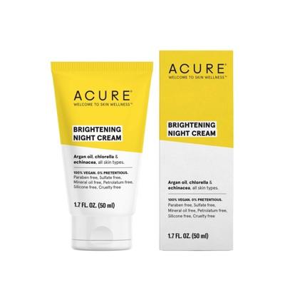 Facial Moisturizer: Acure Brightening Night Cream