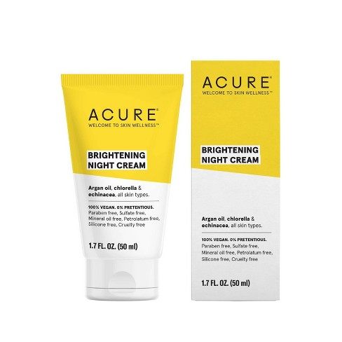 Acure Brightening Night Cream - 1.7 fl oz - image 1 of 4