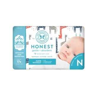 Honest Company Diapers Giraffes - Size Newborn (32ct)