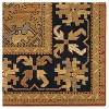"""Tan Solid Woven Area Rug - (5'3""""X7'6"""") - Orian - image 2 of 4"""