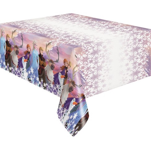 """Frozen 2 84""""x54"""" Reusable Table Cover - image 1 of 3"""