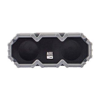 Altec Lansing Life Jacket Jolt Wireless Speaker with Lights - Gray (IMW580L-GG)