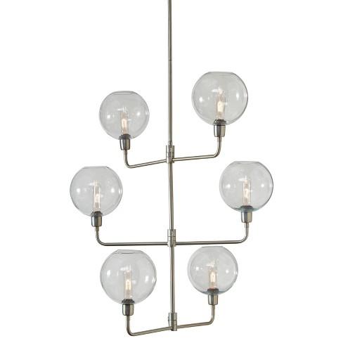 Merton Pendant Light Clear Silver Ashley Target