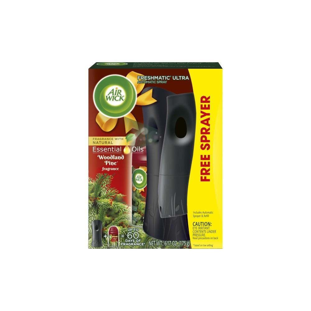 Air Wick Woodland Pine Essential Oils with Free Sprayer - 6.17oz, White