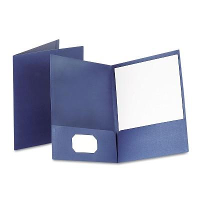 Letter Oxford 53441 Linen Finish Twin Pocket Folders Burgundy,25//Box