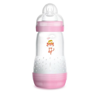 MAM Anti-Colic Bottle - 9oz Pink