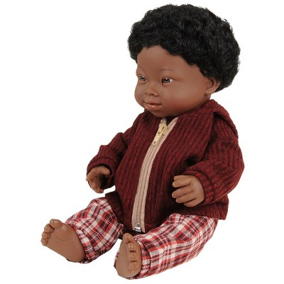"""Miniland Doll with Down Syndrome 15"""" - Boy with Outfit"""