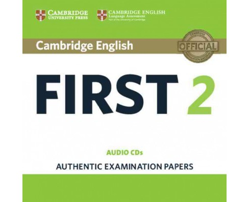 Cambridge English First 2 : Authentic Examination Papers (CD/Spoken Word) - image 1 of 1