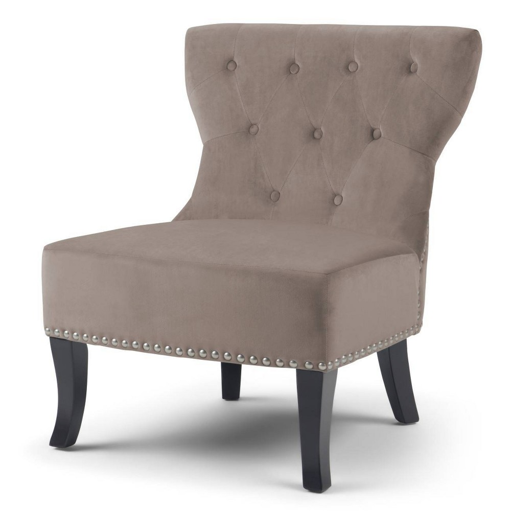 Waterloo Accent Chair Taupe (Brown) - Wyndenhall