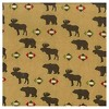 Trend Lab Northwood's Flannel Crib Sheet - image 2 of 2