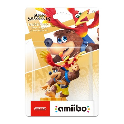 Nintendo Super Smash Bros. amiibo Figure - Banjo & Kazooie