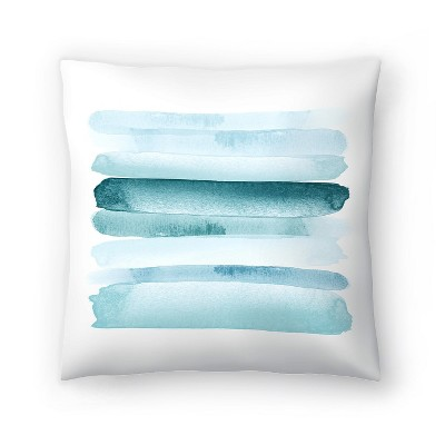 Americanflat Move Forward Blue by Amy Brinkman Throw Pillow