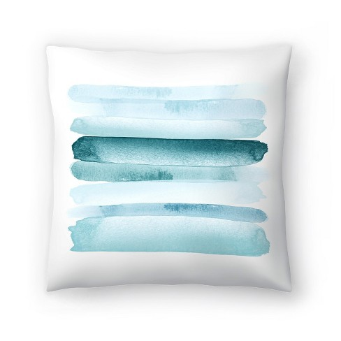 Americanflat Move Forward Blue By Amy Brinkman Throw Pillow Target