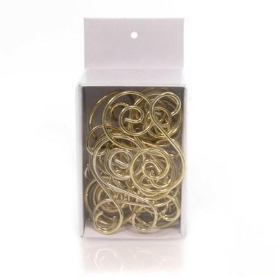 "Old World Christmas 1.75"" S-Hooks Ornament Hanger Gold Tree Swirl  -  Ornament Hooks And Spinners"