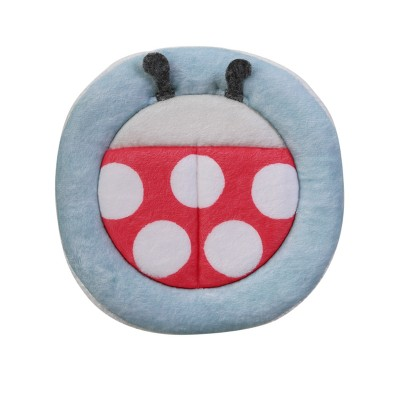 Blooming Baby Blooming Bath Ladybug Bath Scrubbie - Red