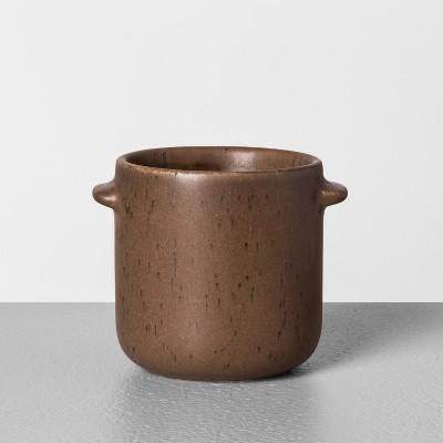 6.2oz Seasonal Ceramic Candle Fireside - Hearth & Hand™ with Magnolia