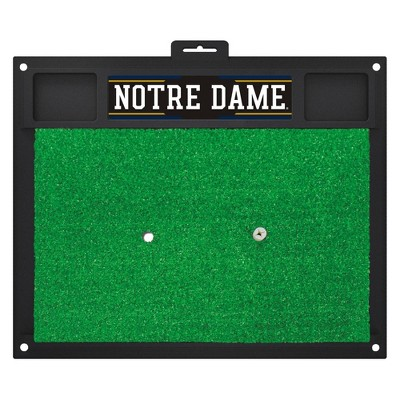 Notre Dame Fighting Irish Fan mats Golf Hitting Mat