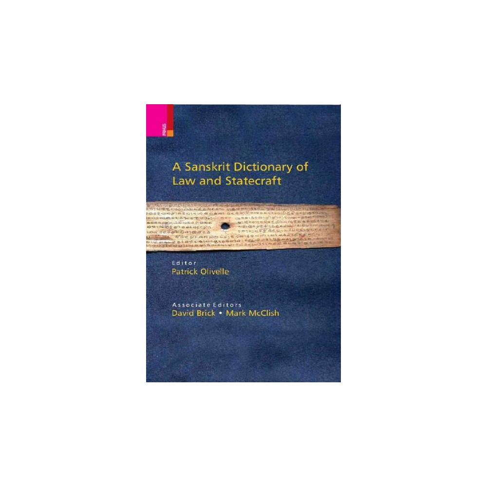 Sanskrit Dictionary of Law and Statecraft (Bilingual) (Hardcover)