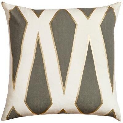 "20""x20"" Geometric Throw Pillow - Rachel Kate"